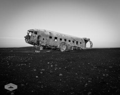 Abandoned Plane on Beach