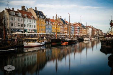 Boats at Nyhavn in Copenhagen