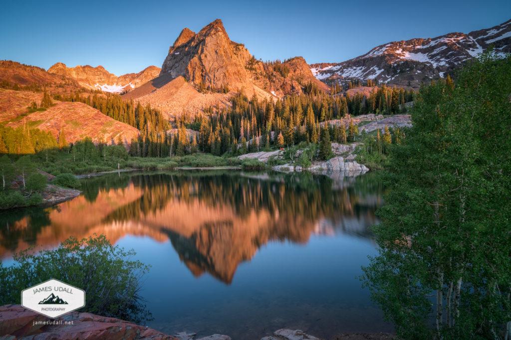 Lake Blanche at Sunset