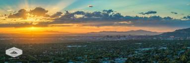 September Sunset In Salt Lake