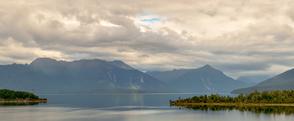 Lake Te Anau Panorama