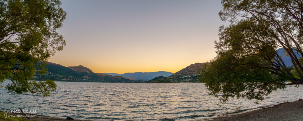 Lake Wakatipu at Dawn