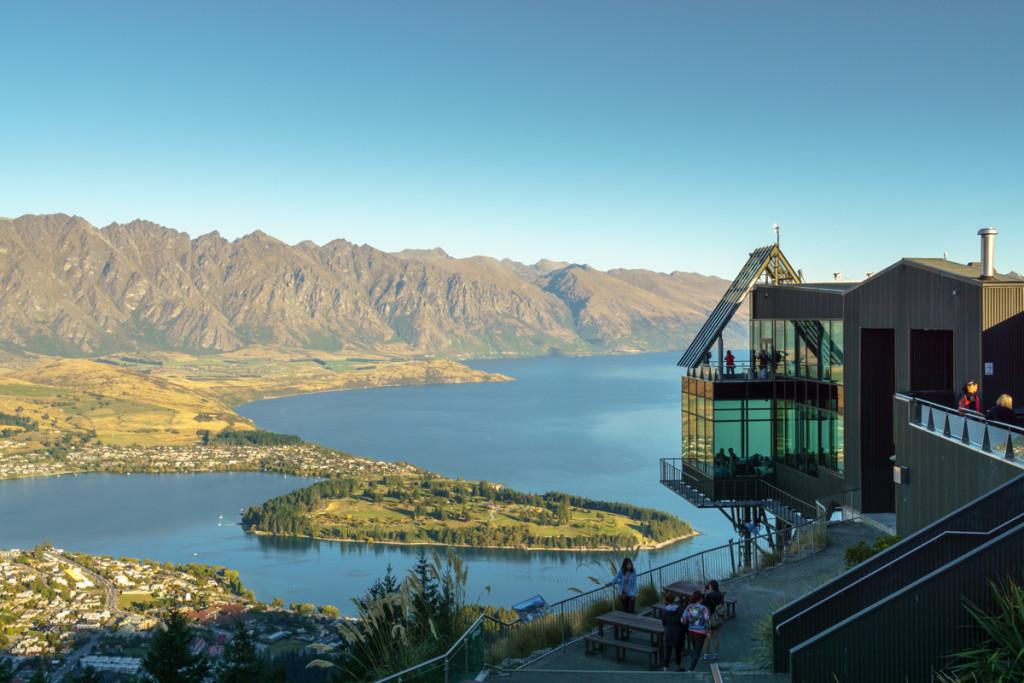Queenstown, New Zealand Overlook