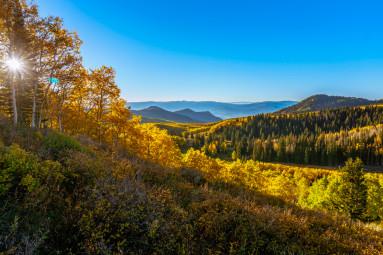Autumn at Guardsman Pass, Utah