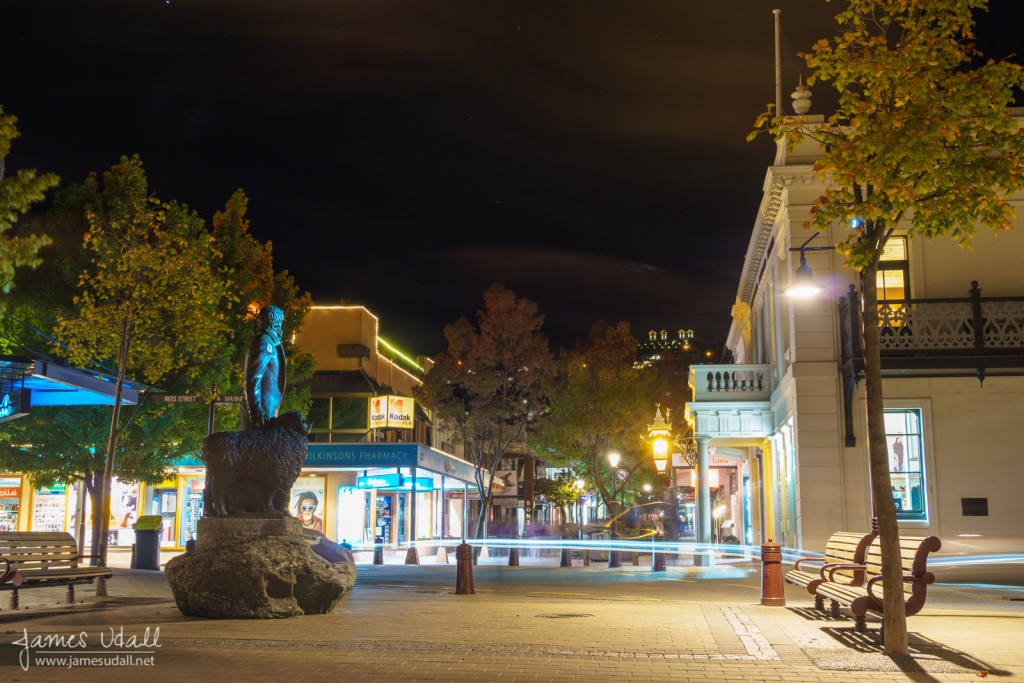 Central Queenstown at Night