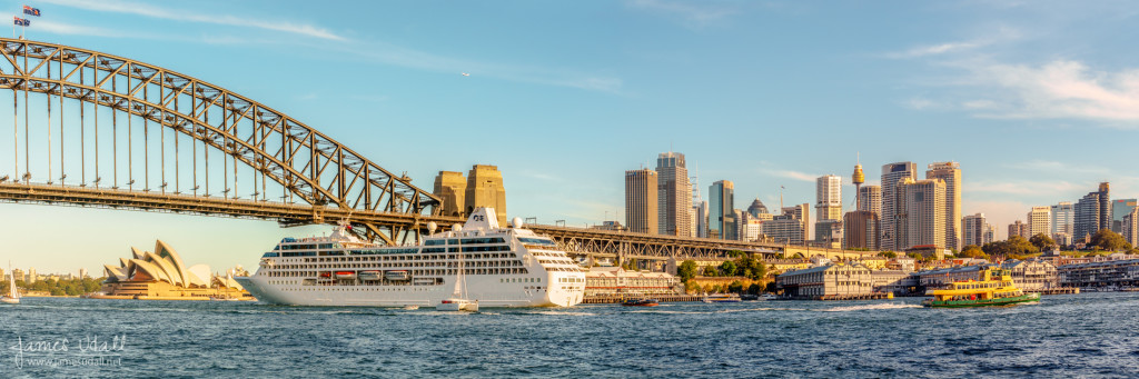 Cruise Ship in Sydney Harbour