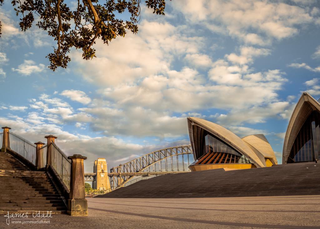 Deserted Morning in Sydney