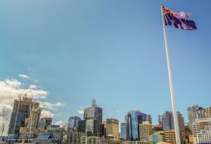 Sydney Skyline from Darling Harbour