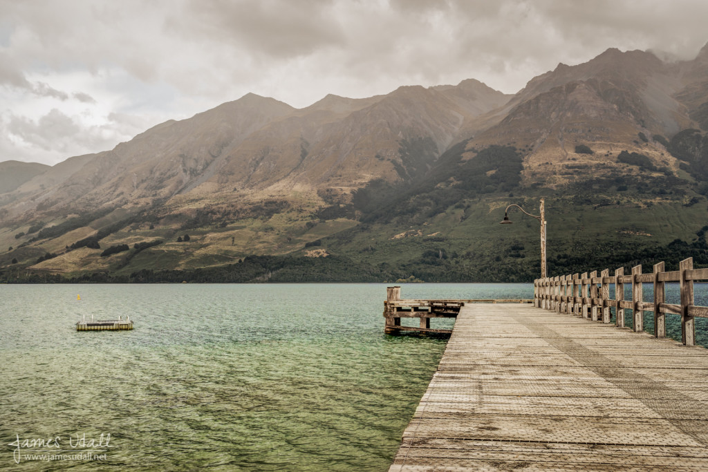 Glenorchy Pier on Lake Wakatipu
