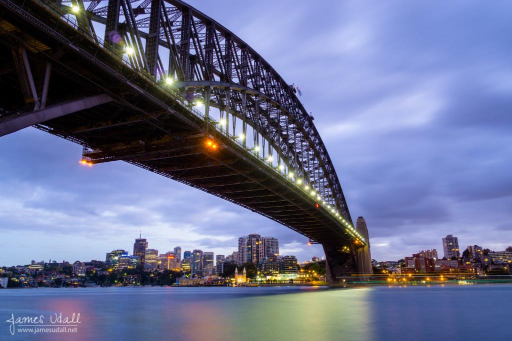 Harbour Bridge Before Sunrise