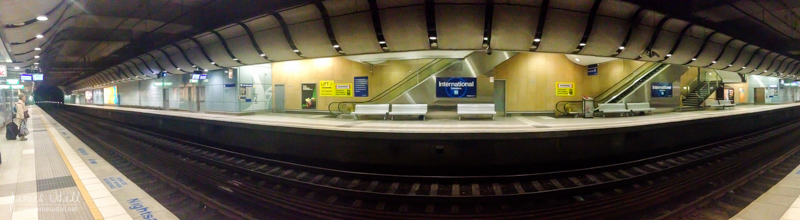 Sydney Airport Train Station