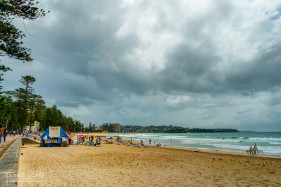 Cloudy Day at Manly Beach