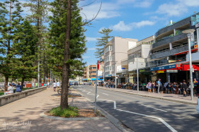 Streetside at Manly Beach