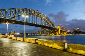 Sydney at Dusk from Milson's Point