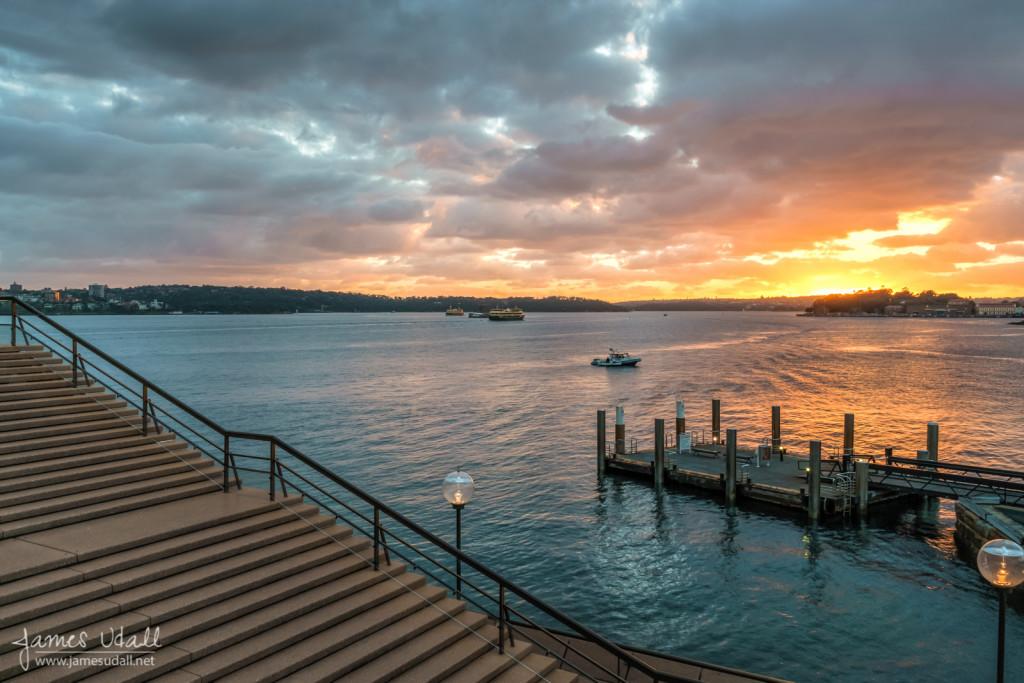Sydney Harbour before Sunrise