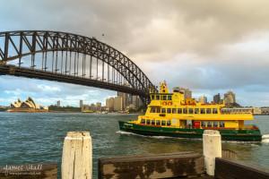 Sydney Ferry at Milson's Point