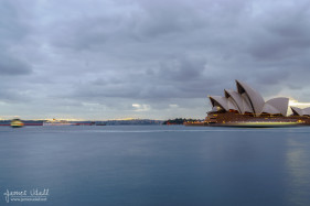 Sydmey Opera House at Dawn