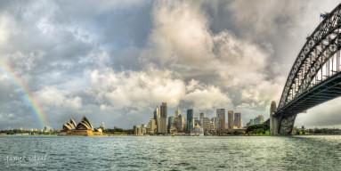 Sydney after a Rainstorm