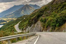 Winding Road to Glenorchy