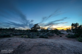 Sunset from Arches