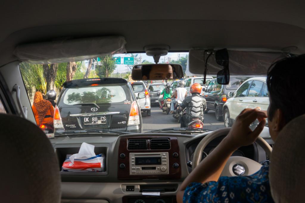 Driving in Denpasar