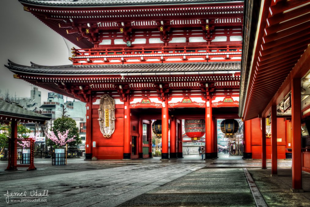 Hozōmon at Asakusa Shrine