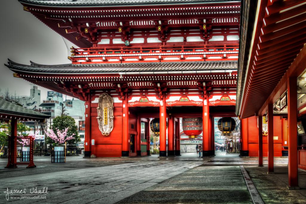 Hozōmon at Sensō-ji Shrine in Asakusa Tokyo, Japan