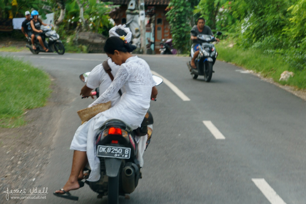 Driving through South Kuta