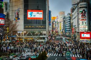 Shibuya Crossing (Scramble)