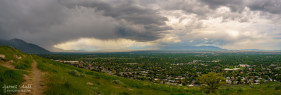 Salt Lake Valley Panorama