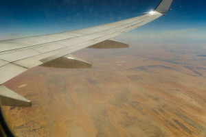 Over the Australian Outback