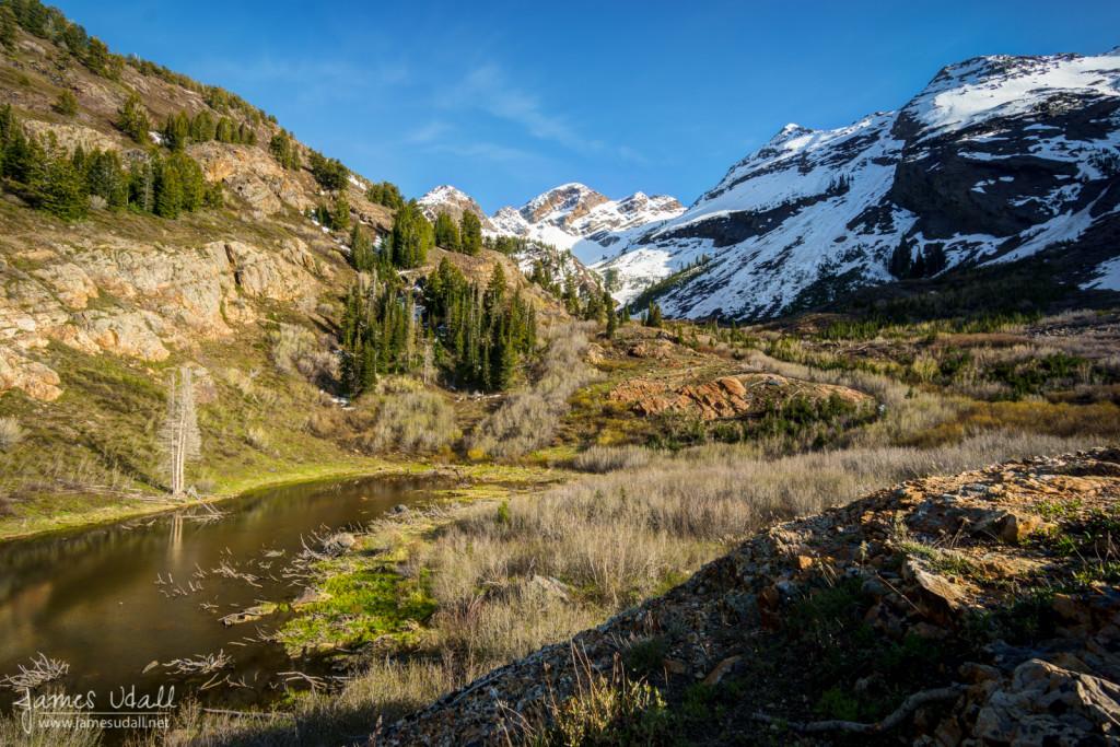Broads Fork Pond - Big Cottonwood Canyon