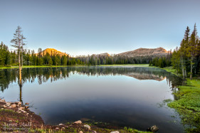 Morning at Lilly Lake, Utah