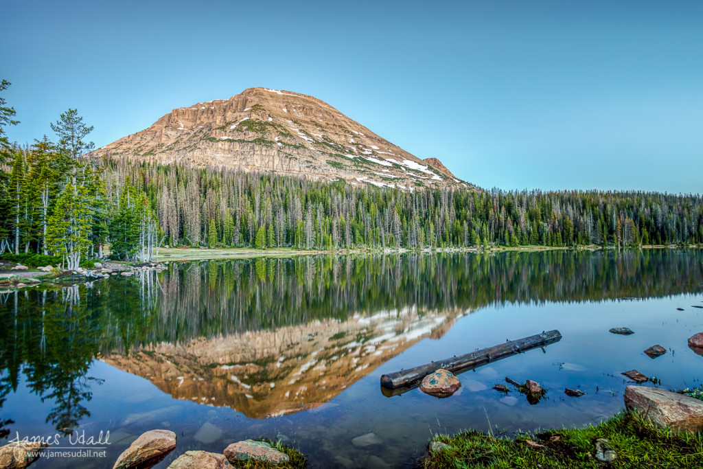 Reflection at Mirror Lake, Utah