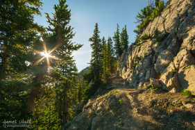 The Climb to Sunset Peak