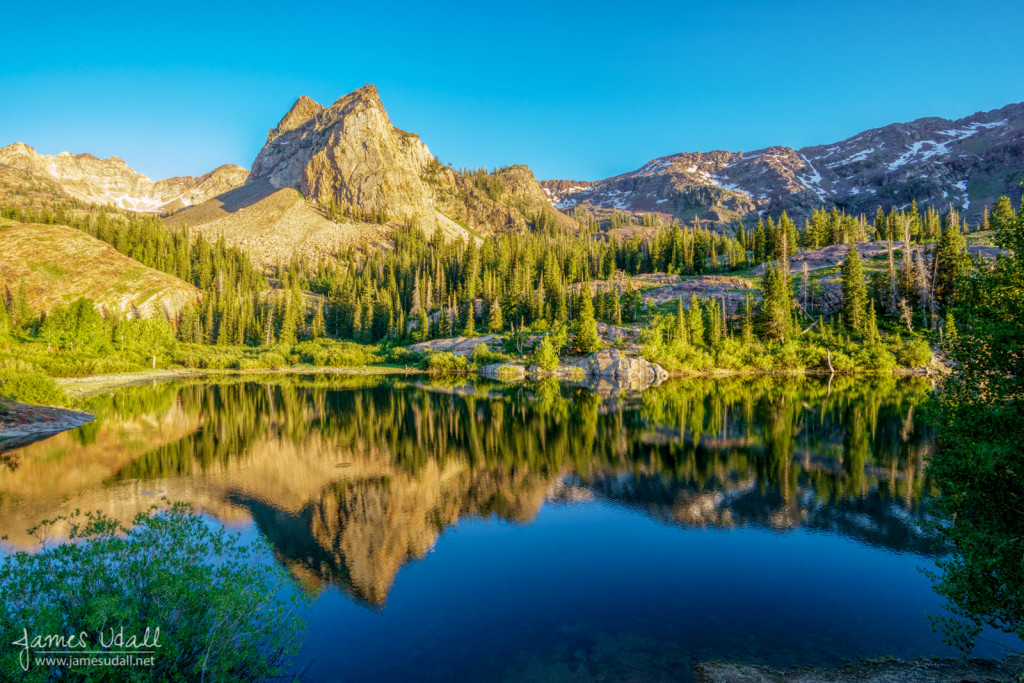 Lake Blanche in Big Cottonwood Canyon near Salt Lake City, Utah