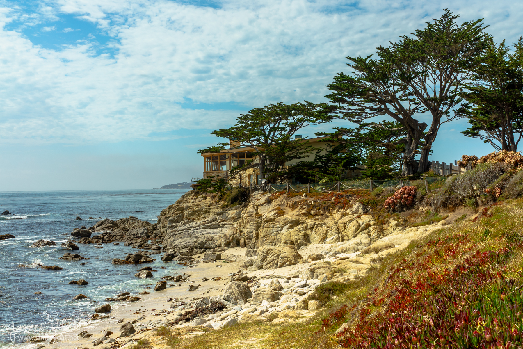 California carmel big sur james udall for Carmel house