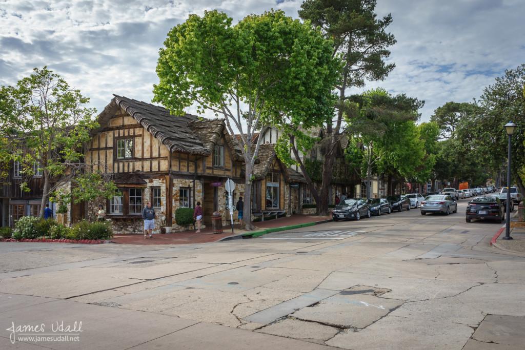 A street in Carmel