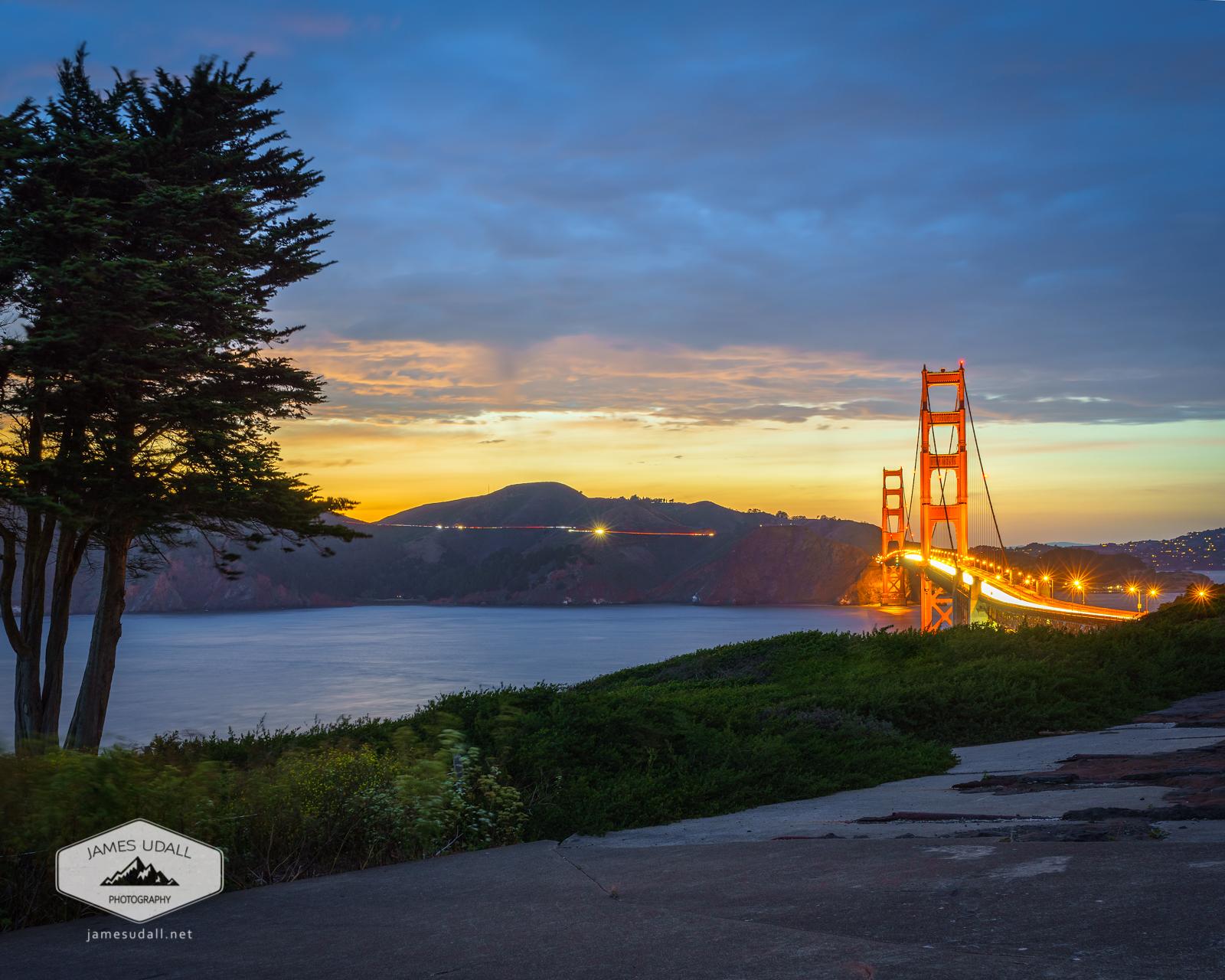 Dusk on the Golden Gate