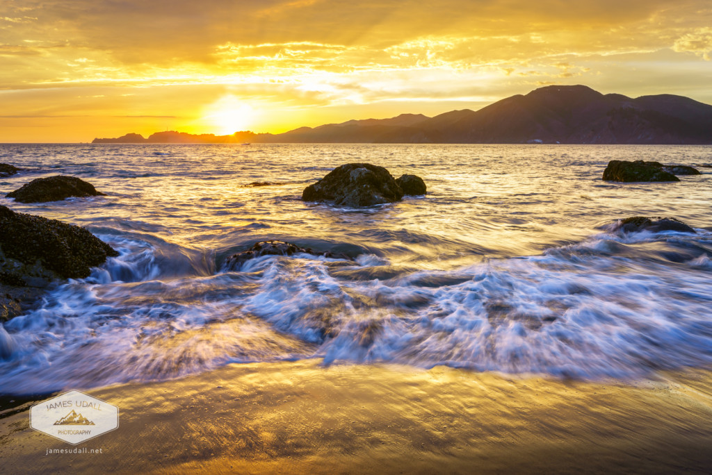 Sunset over the Marin Headlands