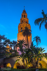 Bell Tower in Balboa Park