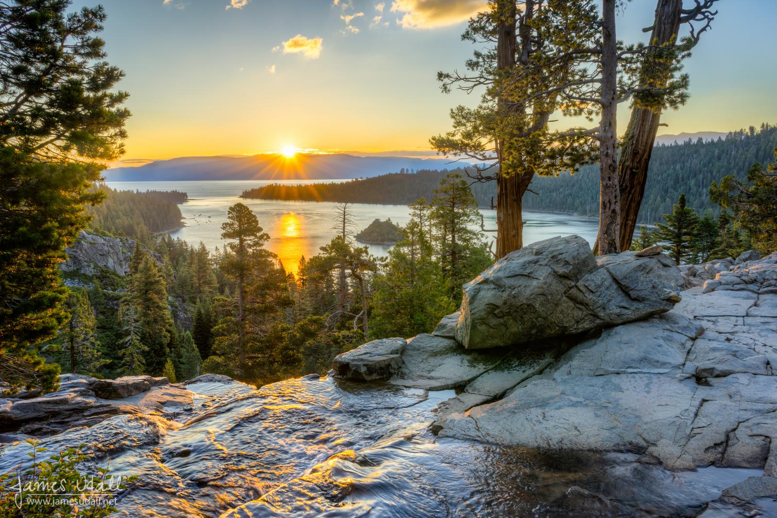 California Nevada Lake Tahoe James Udall