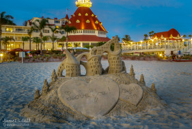 Sandcastle at Hotel Del