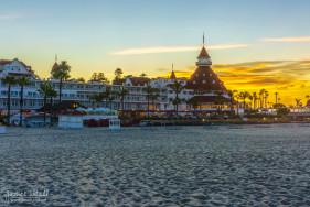 Sunrise at Hotel Del Coronado