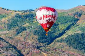 Maverik Hot Air Balloon over Park City