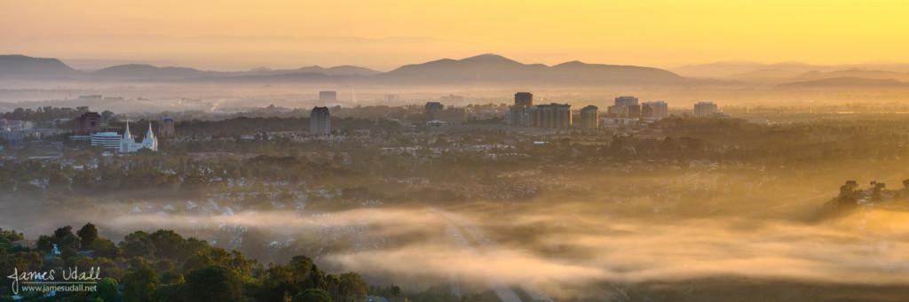 Misty Morning in La Jolla