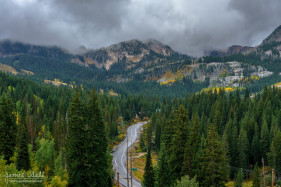 Big Cottonwood Canyon in Autumn