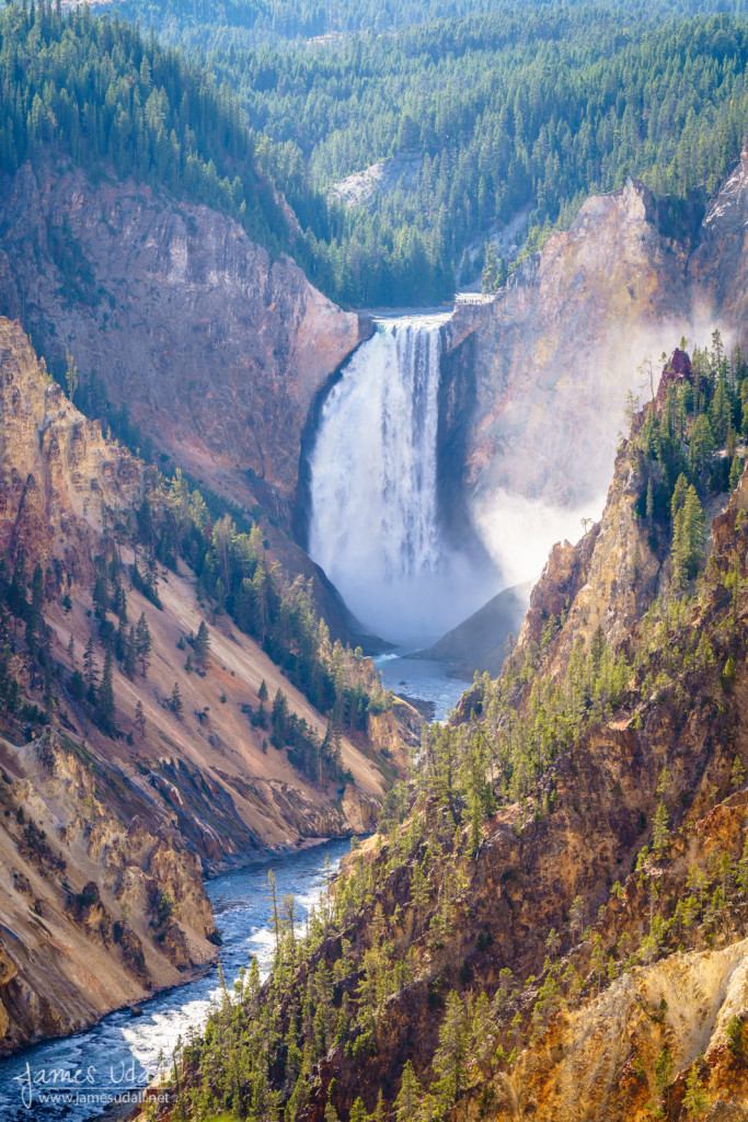Lower Yellowstone River Falls