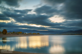 Autumn Morning at Pineview Resevoir