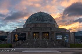 Adler Planetarium at Sunrise
